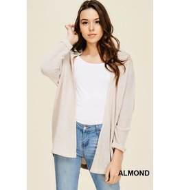 Staccato AMEILA Light Weight Open Front Dolmen Long Sleeve Cardigan