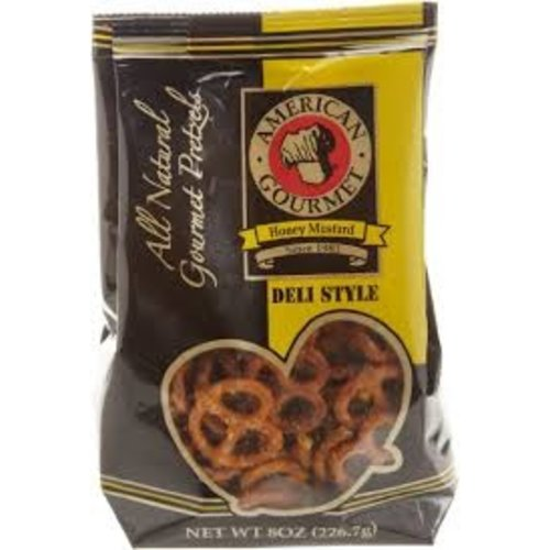 American Gourmet American Gourmet Honey Mustard Pretzels 8 oz Pillow bag