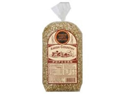 Amish Country Popcorn White Bag 2 lb