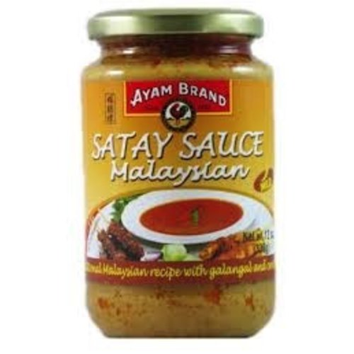 Ayam Ayam Malaysian Satey Sauce 12 Oz jar