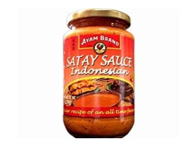 Ayam Ayam Indonesian Hot Satey Sauce 12 Oz