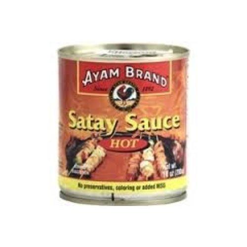 Ayam Ayam Satay Peanut Hot Sauce 10 Oz Can