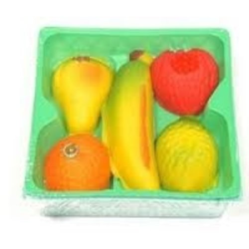Bergen Marzipan Fruits 4 oz Basket