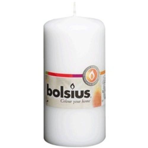 Bolsius Bolsius Pillar Candle White 4.7 x 2.3 inch