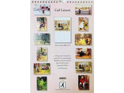 Carl Larsson Everlasting Calendar 11 x 7.5 inch