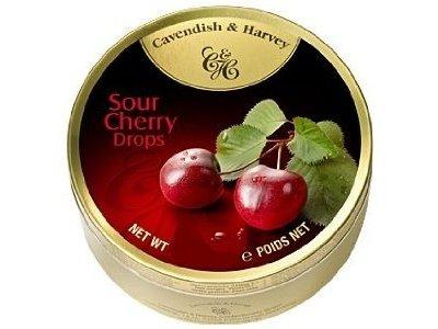 Cavendish & Harvey Cavendish & Harvey Cherry Candy 5.3 Oz Tin