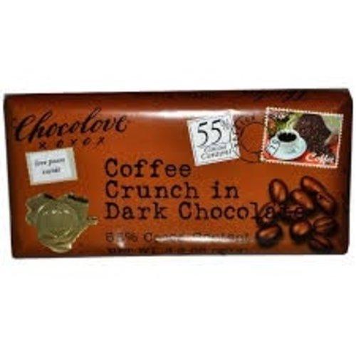 Chocolove Chocolove Dark Coffee Crunch Bar