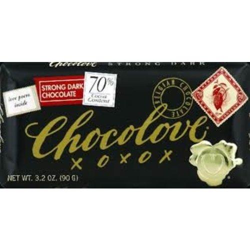 Chocolove Chocolove Strong 70% Dark Bar