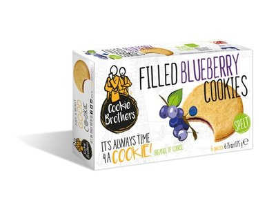Cookie Brothers Cookie Bros Organic Spelt Blueberry 175g