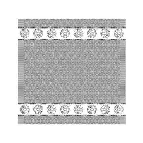 DDDDD DDDDD Lace - Grey Tea Towel 24x25 inch