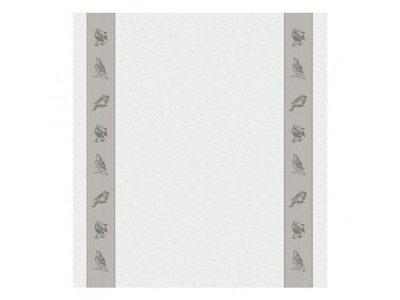 DDDDD DDDDD Sparrow Tea Towel Grey 24x25 inch
