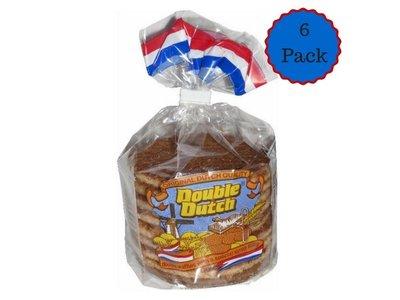 Double Dutch Double Dutch Stroopwafels 6 Pack