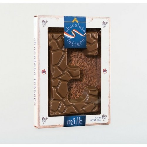 Dutch Letters DL E Milk Chocolate Letter 4.7oz
