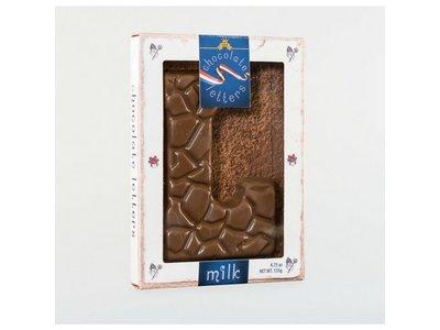 Dutch Letters DL L Milk Chocolate Letter 4.7oz