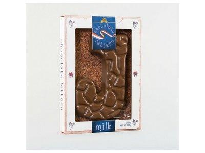 Dutch Letters DL J Milk Chocolate Letter 4.7oz