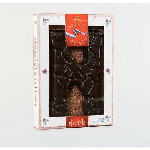 Dutch Letters DL N Dark Chocolate Letter 4.7oz