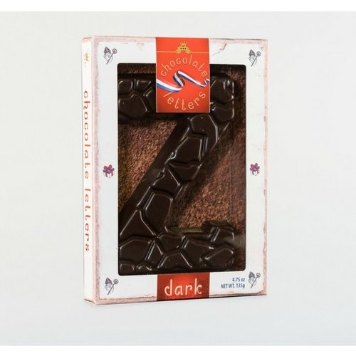Dutch Letters DL Z Dark Chocolate Letter 4.7oz