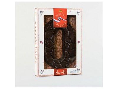 Dutch Letters DL O Dark Chocolate Letter 4.7oz
