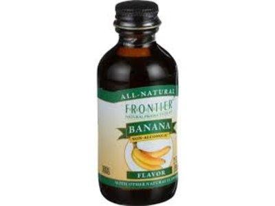 Frontier Frontier Banana Flavor 2 Oz