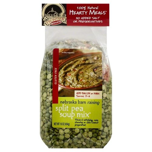 Frontier Soups Frontier Nebraska Barn Raising Green Pea Soup mix