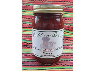Fudd-n-Doug Cherry Salsa 17 Oz
