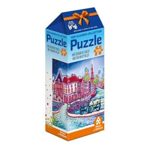 Games Puzzle Amsterdam by Night 500 pc