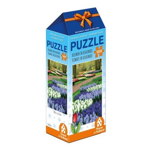 Games Puzzle Flowers in Keukenhof Holland 500 pc