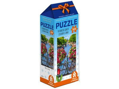Games Puzzle Colorful Canal Holland 500 pc