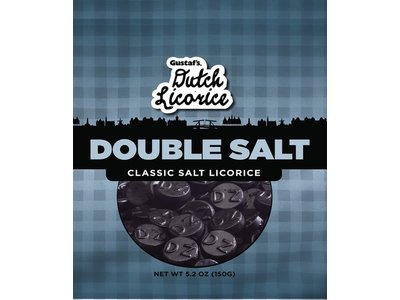 Gustafs Gustafs Double Salt Licorice 5.2 Oz Bag