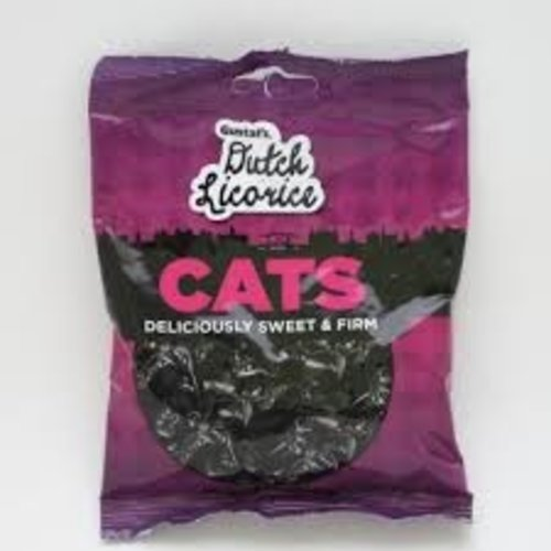 Gustafs Gustafs Cats Licorice 5.2 Oz Bag