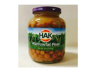 Hak Hak Marrowfat Peas Capucijners 25 Oz