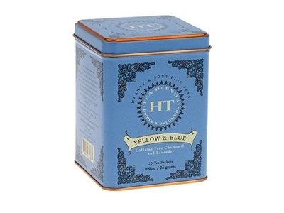 Harney & Son Harney & Sons Chamomile and Lavender Yellow & Blue 20 Ct Tea Tin