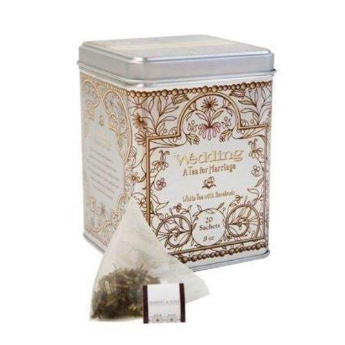 Harney & Son Harney & Sons Wedding 20 Ct Tea Tin White Tea with Rosebuds