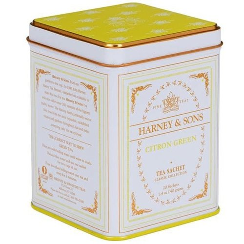 Harney & Son Harney & Sons Citron Green Classic White Tea Tin