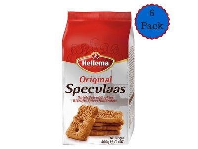Hellema Hellema Speculaas - 14 oz spiced cookies 6 pack