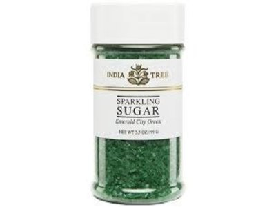 India Tree India Tree Emerald Green Sparkling Sugar 3.5 Oz
