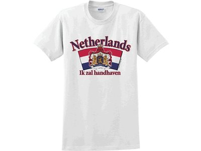 Netherlands Arched logo T-Shirt Extra Large(clearance)