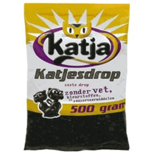 Katja Katja Licorice Cats 17.6 Oz Bag