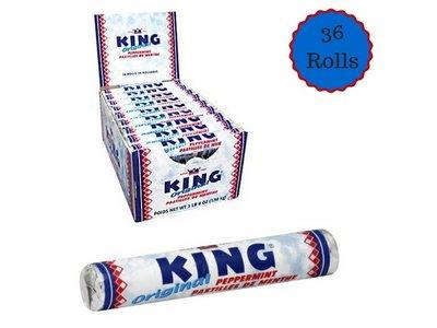 King King Peppermint Rolls Box