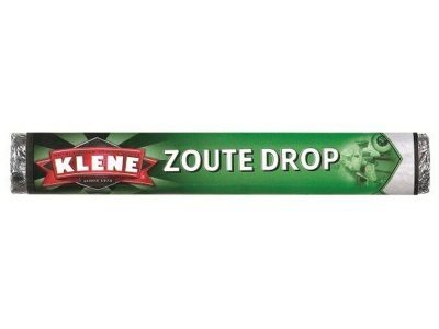 Klene Klene Zoute Drop Licorice Singles Roll