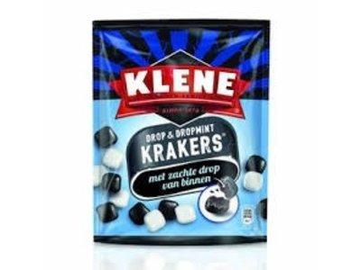 Klene Klene Licorice & Mint Krakers 210g bag