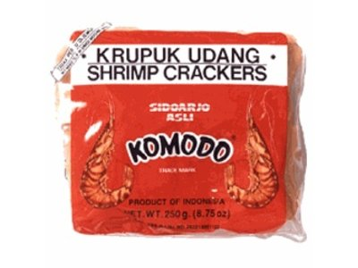 Komodo Komodo Krupuk Udang Shrimp Cracker Raw 8.75 Oz
