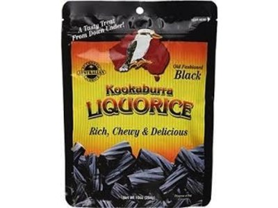 Kookaburra Kookaburra Black Licorice 10 oz bag