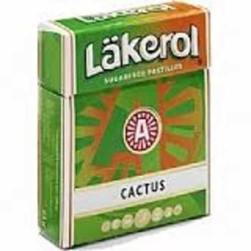 Lakerol Sugar Free Cactus Licorice Box