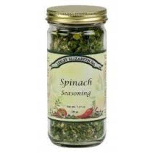 Lesley Elizabeth Lesley Spinach seasoning 1.8 oz shaker