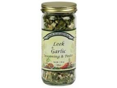 Lesley Elizabeth Lesley Leek & Garlic Seasoning blend 1.3 oz shaker