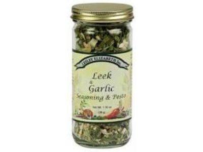 Lesley Elizabeth Lesley Leek & Garlic Seasoning blend 1.3 oz shaker