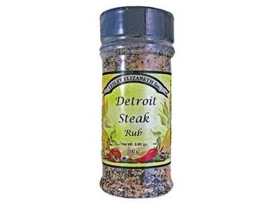 Lesley Elizabeth Lesley Detroit Steak Rub 6.8 oz shaker