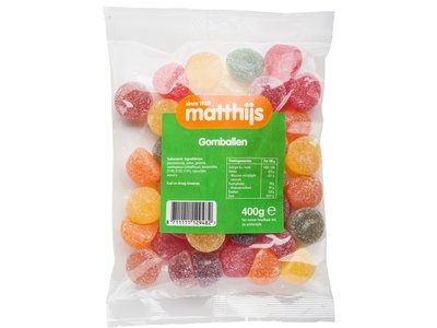 Matthijs Matthijs Jelly Fruits Gomballen 14 oz