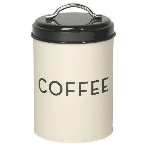 Coffee Tin Ivory